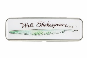 Will Shakespeare Pencil Tin
