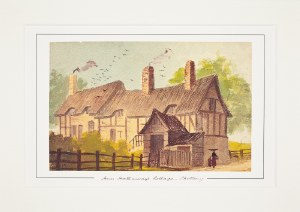 Paul Braddon Mounted Print - Anne Hathaway's Cottage