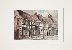 Paul Braddon Mounted Print of Shakespeare's Birthplace