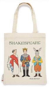 Shakespeare Characters Tote Bag