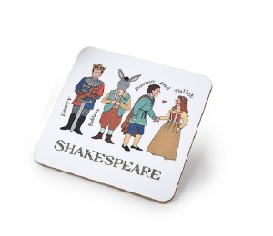 Shakespeare Characters Coaster