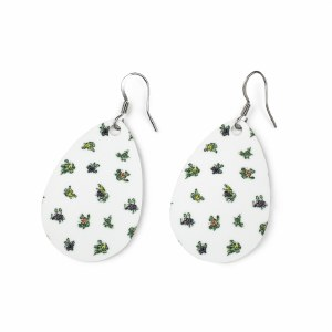 'Ophelia's Flowers' Earrings