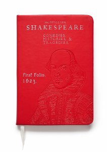 First Folio foiled notebook