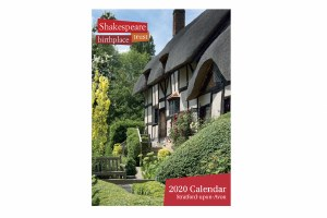 2020 Shakespeare Houses Calendar
