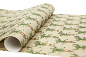'Unto The Green Holly' Christmas Gift Wrap