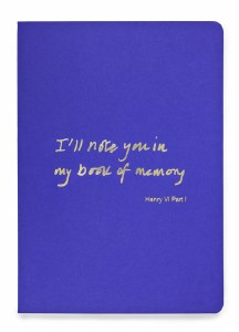 A5  Notebook Book of memory