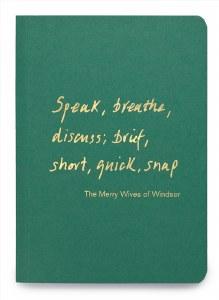 A6 Notebook Speak, breathe, discuss