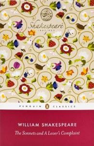 Exclusive Penguin Classics The Sonnets & A Lover's Complaint