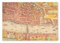 Collections, London Map, Wooden Postcard