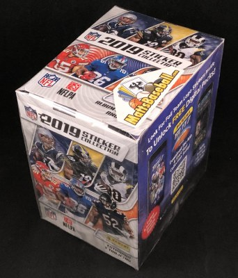 2019 PANINI NFL STICKERS 50PK