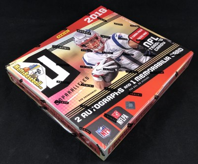 2019 PANINI UNPARALLELED FB