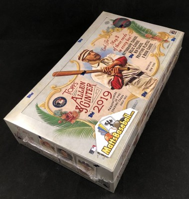 2019 TOPPS ALLEN & GINTER HBY