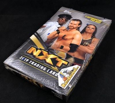 2019 TOPPS WWE NXT HOBBY