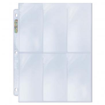 ULTRA PRO 6-POCKET PAGES 100CT