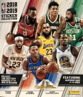 18/19 PANINI NBA STICKER ALBUM