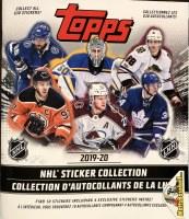 19/20 TOPPS NHL STICKER ALBUM