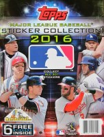2016 TOPPS STICKERS BB ALBUM