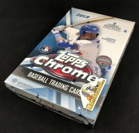 2019 TOPPS CHROME BB HOBBY