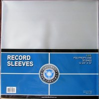 CSP RECORD SLEEVES 4MIL 50CT*