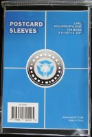 CSP POSTCARD SLEEVES - 100CT