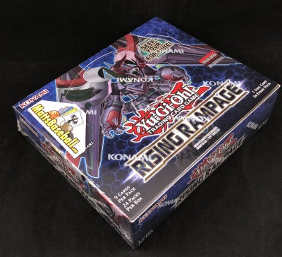 YUGIOH RISING RAMPAGE BOOSTERS