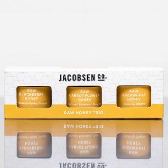 Jacobsen Co Raw Honey Trio