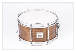 No.8 Walnut Birch Snare - Vintage Gloss 13*6.5