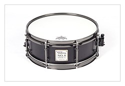 No.8 Birch Snare - Solid Black 13*5