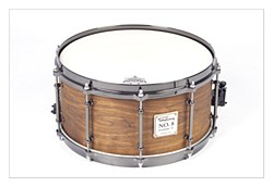 No.8 Walnut Birch Snare - Natural Finish 14*7