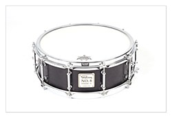 No.8 Kevazingo Birch Snare - Matt Black 14*5