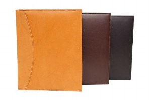 Leather A19 Book Jacket