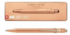 Caran D'Ache 849 Brut Rose Office Ballpoint Pen