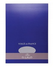 G. Lalo Verge de France Writing Paper A5 Pad- 50 Sheets per Pad