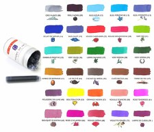 J. Herbin Universal Ink Cartridges- 6 per Package