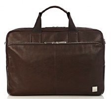 Knomo London Amesbury Briefcase in Leather