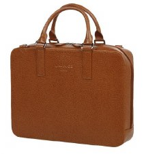 Laurige Leather Laptop Briefcase