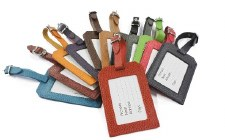 Laurige Leather Luggage Tag
