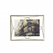 Umbra Prisma Frame 4x6 Matte Brass