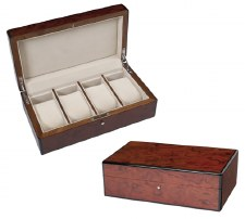 Watch Box- 4 Watches