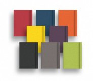 Fabriano EcoQua Notebook with Elastic and Dotted Paper- A5