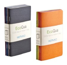 Fabriano EcoQua Pocket Notebooks with Dotted Paper- 4 per package