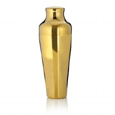 Viski Gold-Plated Cocktail Shaker