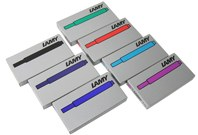 Lamy Ink Cartridges for Lamy Fountain Pens (5 per Package)