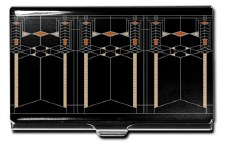 "Acme Business Card Case ""Robie House"" - Frank Lloyd Wright"