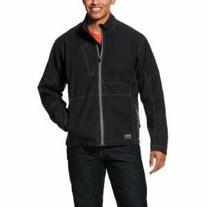 10020777 ARIAT REBAR STRETCH CANVAS SOFTSHELL JACKET