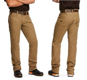 10030239 ARIAT REBAR M4 LOW RISE DURASTRETCH STACKABLE STRAIGHT LEG PANT