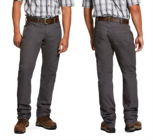 10030250 ARIAT REBAR M4 LOW RISE DURASTRETCH STACKABLE STRAIGHT LEG PANT
