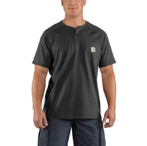 100413 Force Cotton Delmont Short-Sleeve Henley