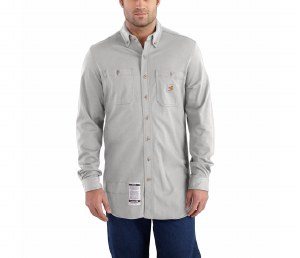 101698 Flame Resistant Force Cotton Hybrid Shirt