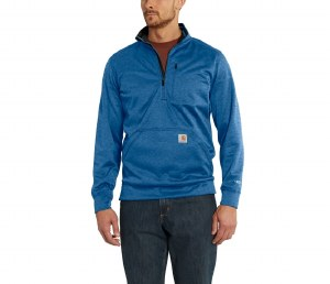 102831 Force Extremes Mock-Neck Half-Zip Sweatshirt